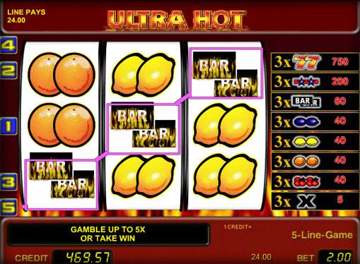Premi di slot Ultra Hot