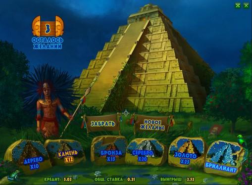 Gioco bonus di slot Aztec Empire