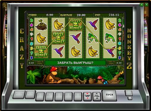 Bonus combinazione di slot Crazy Monkey 2
