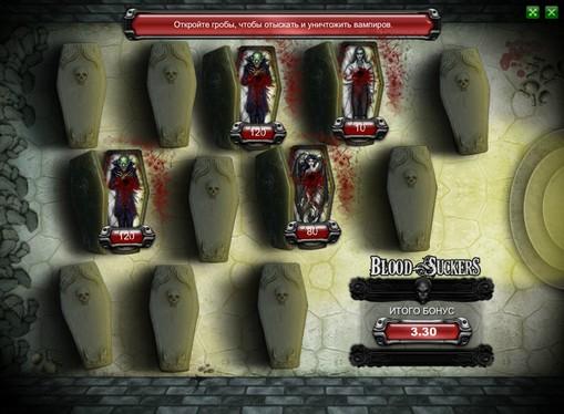 Gioco bonus di slot Blood Suckers