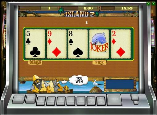 Gioco di slot doppio Island 2