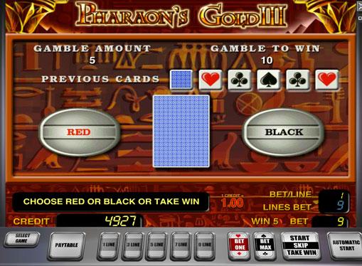 Gioco di slot doppio Pharaoh's Gold III