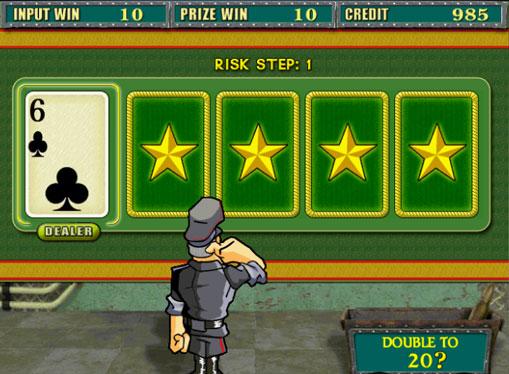 Gioco di slot doppio Resident