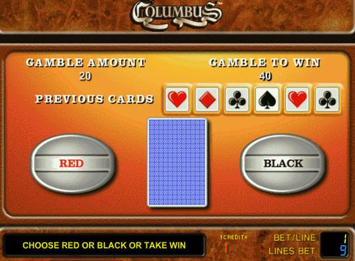 Gioco di slot doppio Columbus