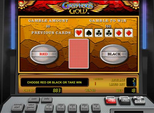 Gioco di slot doppio Gryphon's Gold