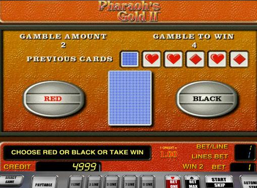 Gioco di slot doppio Pharaoh's Gold II