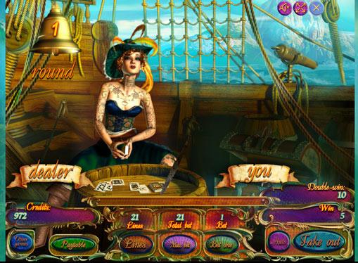 Gioco di slot doppio Pirates Treasures