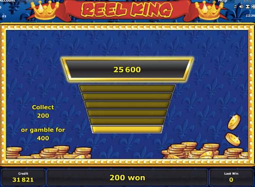 Gioco di slot doppio Reel King