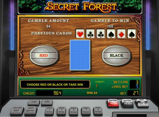 Gioco di slot doppio Secret Forest