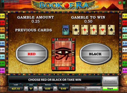 Gioco di slot doppio Book of Ra Deluxe