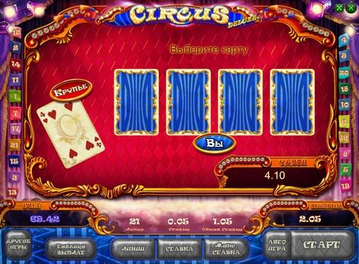 Gioco di slot doppio Circus HD