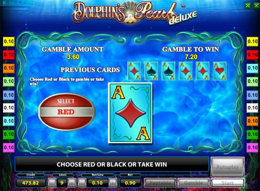 Gioco di slot doppio Dolphins Pearl Deluxe