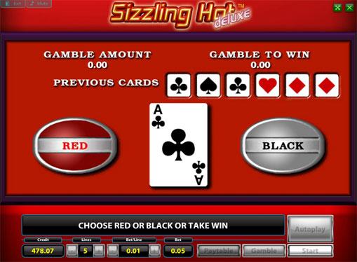 Gioco di slot doppio Sizzling Hot Deluxe