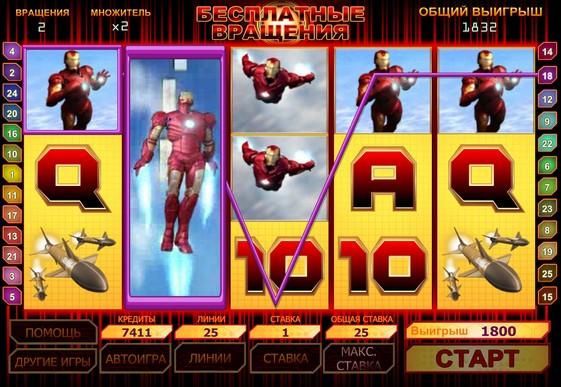 Giri gratuiti di slot Iron Man