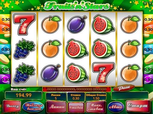Fruits n Stars gioca allo slot online per soldi