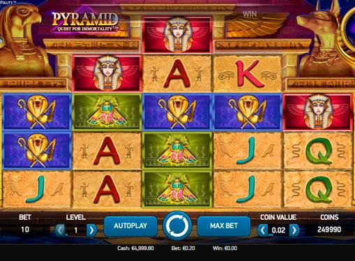Gioca allo slot per soldi - Pyramid