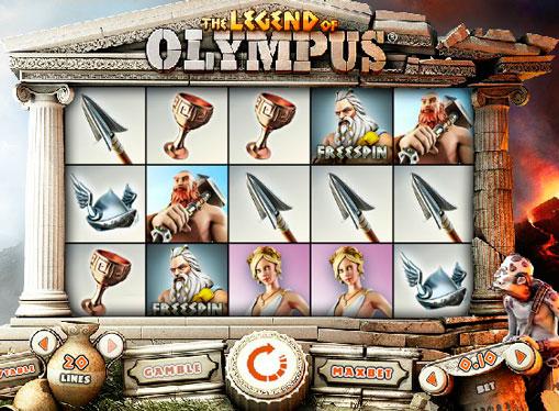 Macchina da gioco Legend of Olympus online per soldi