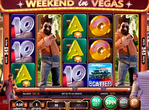 Macchine da gioco Weekend in Vegas gioco d'azzardo online con ritiro