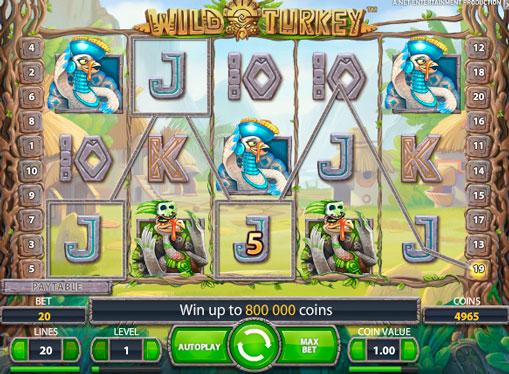 Macchina da gioco Wild Turkey per soldi veri