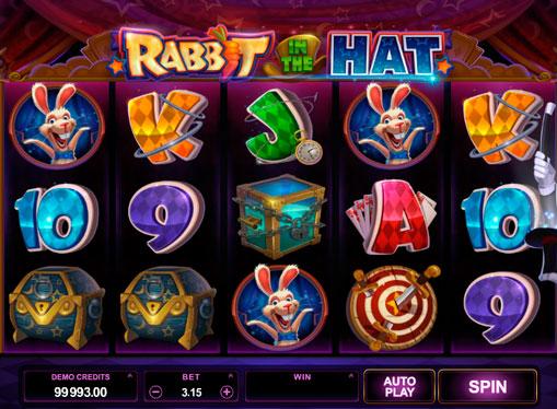 Slot per soldi veri - Rabbit in the Hat