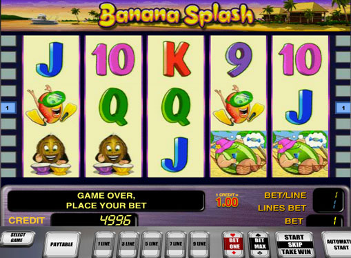 Banana Splash gioca allo slot online