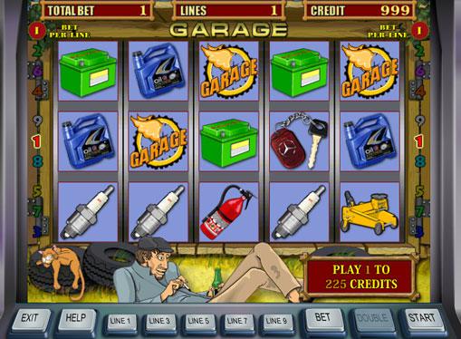 Garage gioca allo slot online