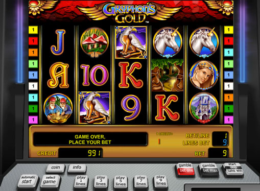 Gryphon's Gold gioca allo slot online