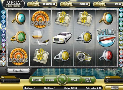Mega Fortune gioca allo slot online