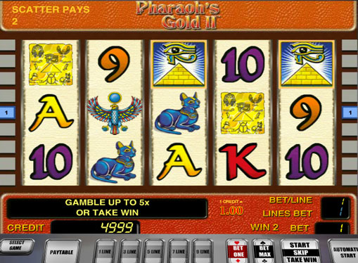 Pharaoh's Gold II gioca allo slot online