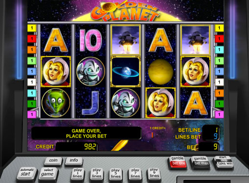 Golden Planet gioca allo slot online