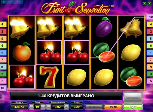 La comparsa di slot Fruit Sensation Deluxe