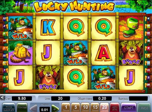 Lucky Hunting gioca allo slot online