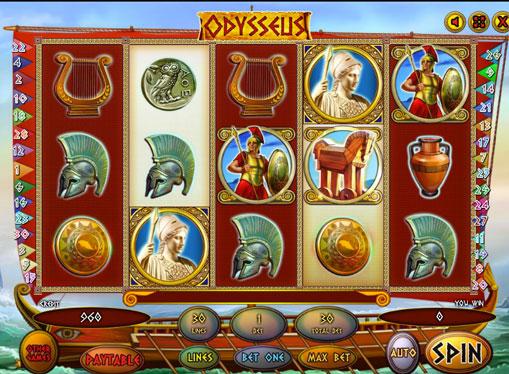 Odysseus gioca allo slot online per soldi