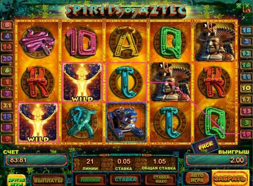 Spirits of Aztec gioca allo slot online per soldi