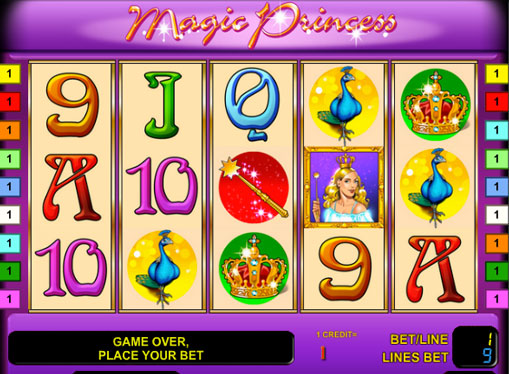 Magic Princess gioca allo slot online per soldi