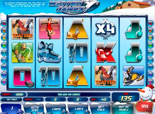 Winter Games gioca allo slot online per soldi