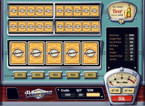 Pokerama gioca allo slot online per soldi