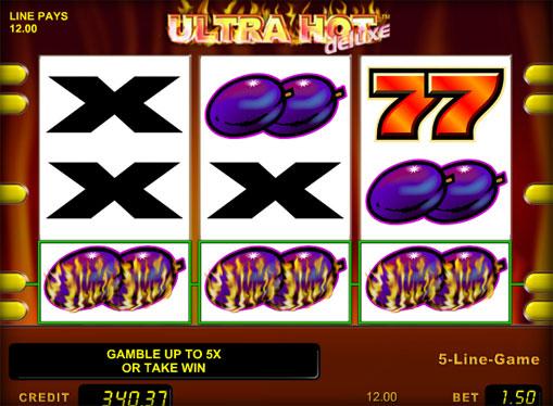 I segni dello slot Ultra Hot Deluxe
