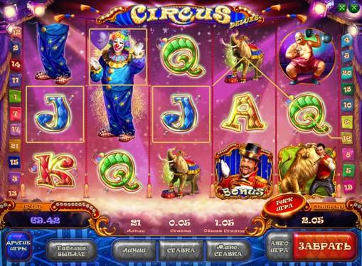 Premi di slot Circus HD