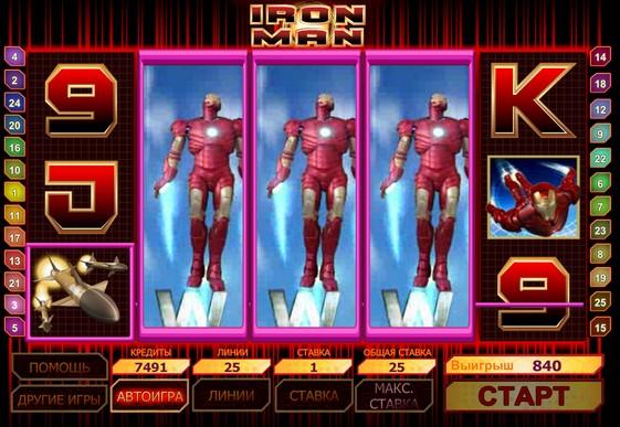I rulli di slot Iron Man
