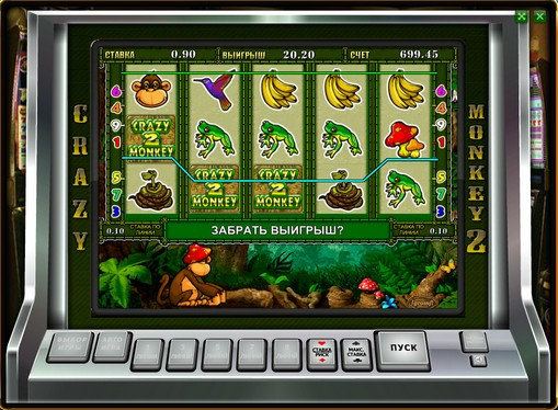 I rulli di slot Crazy Monkey 2