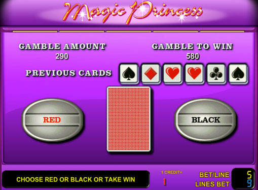 Gioco di slot doppio Magic Princess