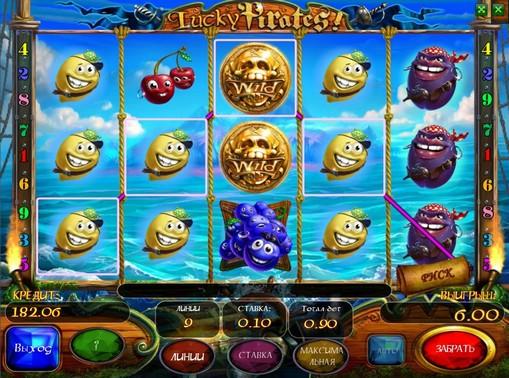 Lucky Pirates gioca allo slot online per soldi
