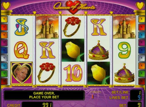 Queen of Hearts gioca allo slot online per soldi