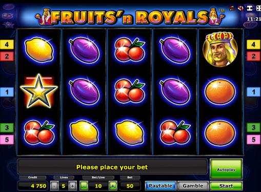 Fruits'n Royals Deluxe gioca allo slot online