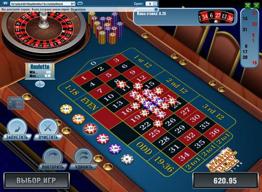 Le scommesse sono state fatte nello slot European Roulette