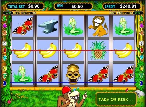 Crazy Monkey gioca allo slot online