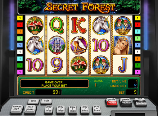 Secret Forest gioca allo slot online per soldi