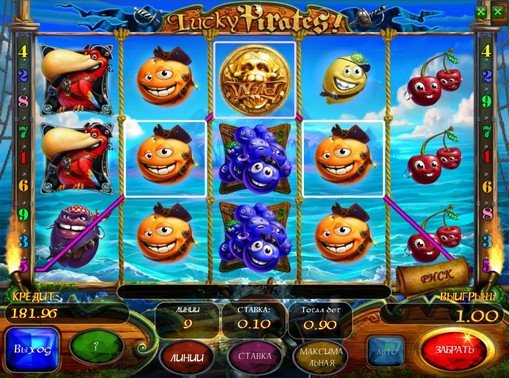 I segni dello slot Lucky Pirates