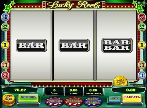 I segni dello slot Lucky Reels